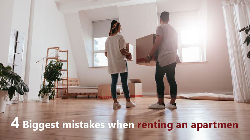 4 Biggest Mistakes When Renting An Apartmen